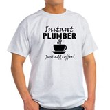 Funny plumber Mens Light T-shirts