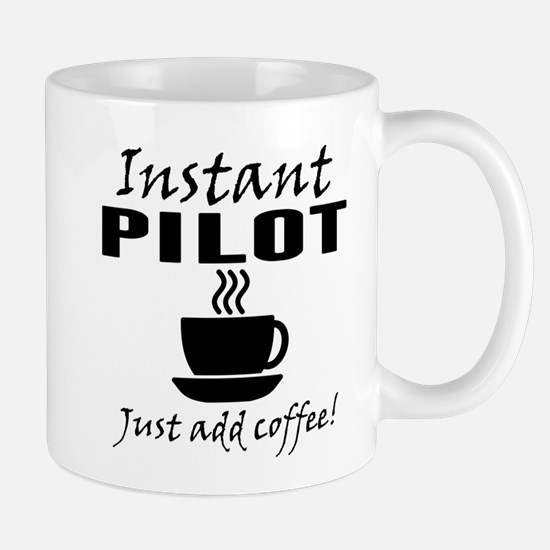 Instant Pilot Just Add Coffee Mugs