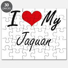 I Love My Jaquan Puzzle
