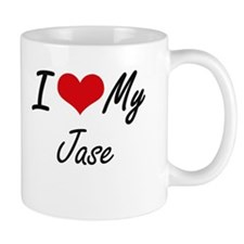 I Love My Jase Mugs