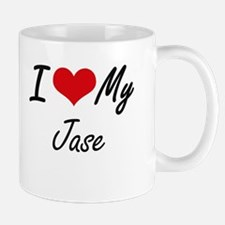 I Love My Jase Mugs