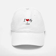 I Love My Jase Baseball Baseball Cap