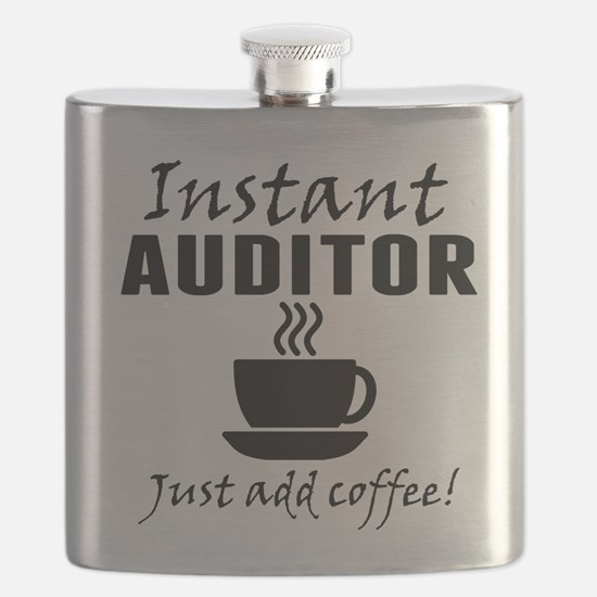 Instant Auditor Just Add Coffee Flask