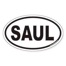 SAUL Euro Oval Decal