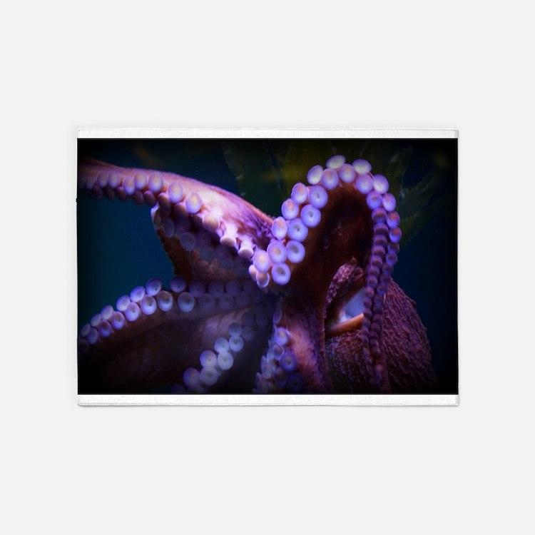 AQ Octopus 5'x7'Area Rug