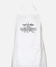 Year Of The Monkey 1944 Apron