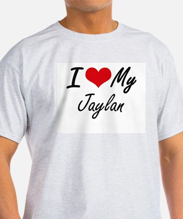 I Love My Jaylan T-Shirt