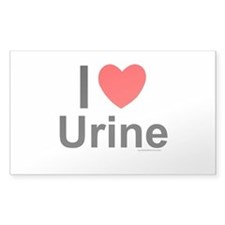 Urine Decal