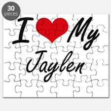 I Love My Jaylen Puzzle
