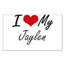 I Love My Jaylen Decal