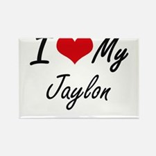I Love My Jaylon Magnets