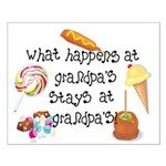 What Happens at Grandpa's... Small Poster