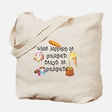 What Happens at Grandpa's... Tote Bag