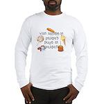 What Happens at Grandpa's... Long Sleeve T-Shirt