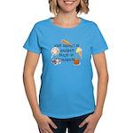 What Happens at Grandpa's... Women's Dark T-Shirt