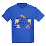What Happens at Grandpa's... Kids Dark T-Shirt