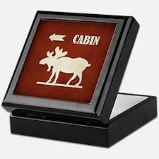 CABIN Keepsake Box