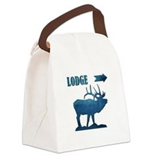 LODGE Canvas Lunch Bag