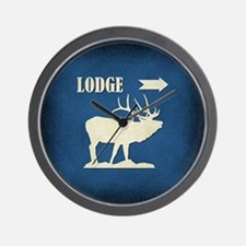 LODGE Wall Clock