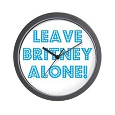 Leave her alone... Wall Clock