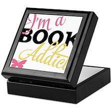 Book Addict Keepsake Box