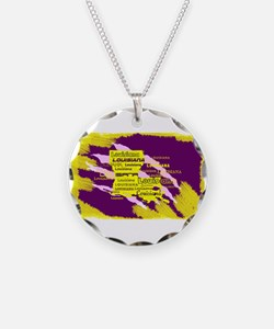 Louisiana Tiger Clawed Necklace