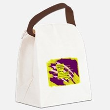 Louisiana Tiger Clawed Canvas Lunch Bag