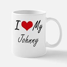 I Love My Johnny Mugs