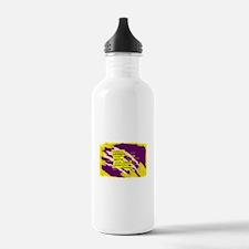 Louisiana Tiger Clawed Sports Water Bottle