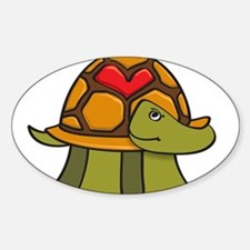 Turtle Shell Heart Decal