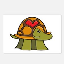 Turtle Shell Heart Postcards (Package of 8)