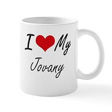 I Love My Jovany Mugs