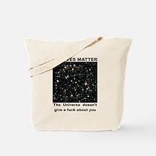No Lives Matter (Explicit - Black) Tote Bag