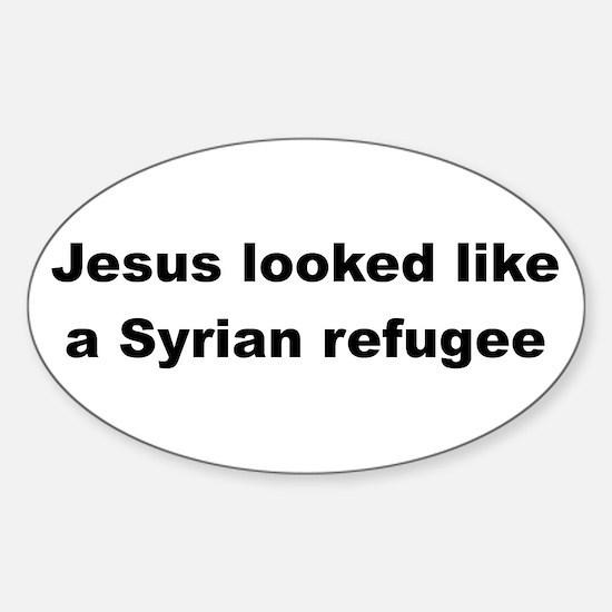 Jesus Syrian (Black) Decal