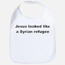 Jesus Syrian (Black) Bib
