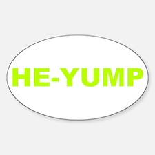 He-Yump (Transparent) Decal