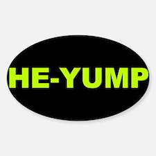 He-Yump (Black) Decal