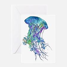 Unique Jellyfish Greeting Card