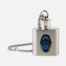 Cute Planet of the apes Flask Necklace
