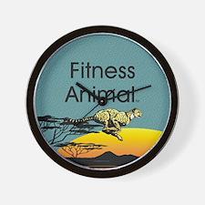 TOP Fitness Animal Wall Clock