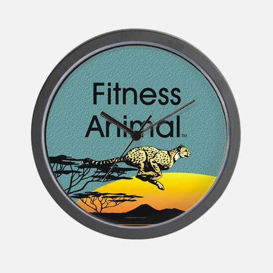 TOP Fitness Animal Wall Clock