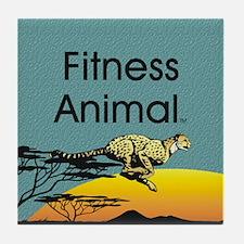 TOP Fitness Animal Tile Coaster