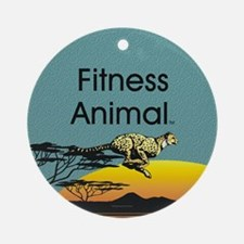 TOP Fitness Animal Ornament (Round)