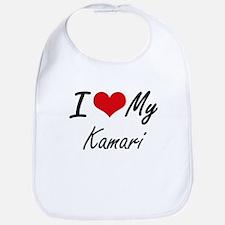 I Love My Kamari Bib