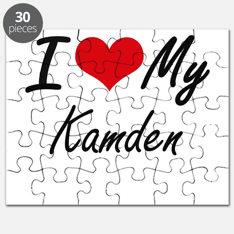 I Love My Kamden Puzzle