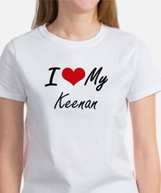 I Love My Keenan T-Shirt