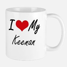 I Love My Keenan Mugs