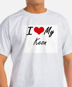 I Love My Keon T-Shirt