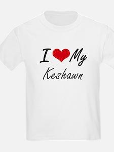 I Love My Keshawn T-Shirt