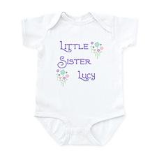 Little Sister Lucy Infant Bodysuit